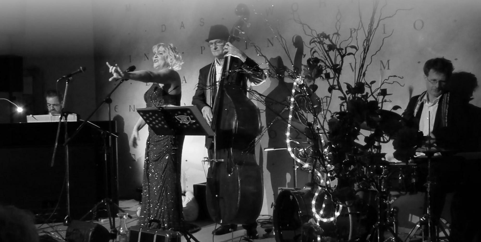 Hanna Rose und Combo Salzburg - Band Livemusik Chansons - klassiker der deutschen Musikgeschichte