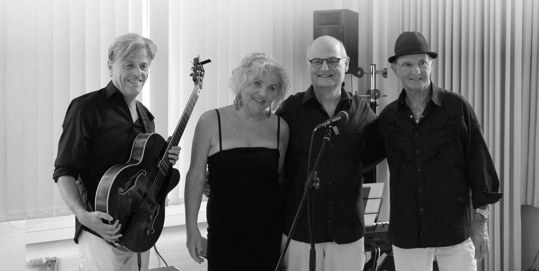 Honey Rose Quartett Salzburg - Liveband - Swing - Loungemusik