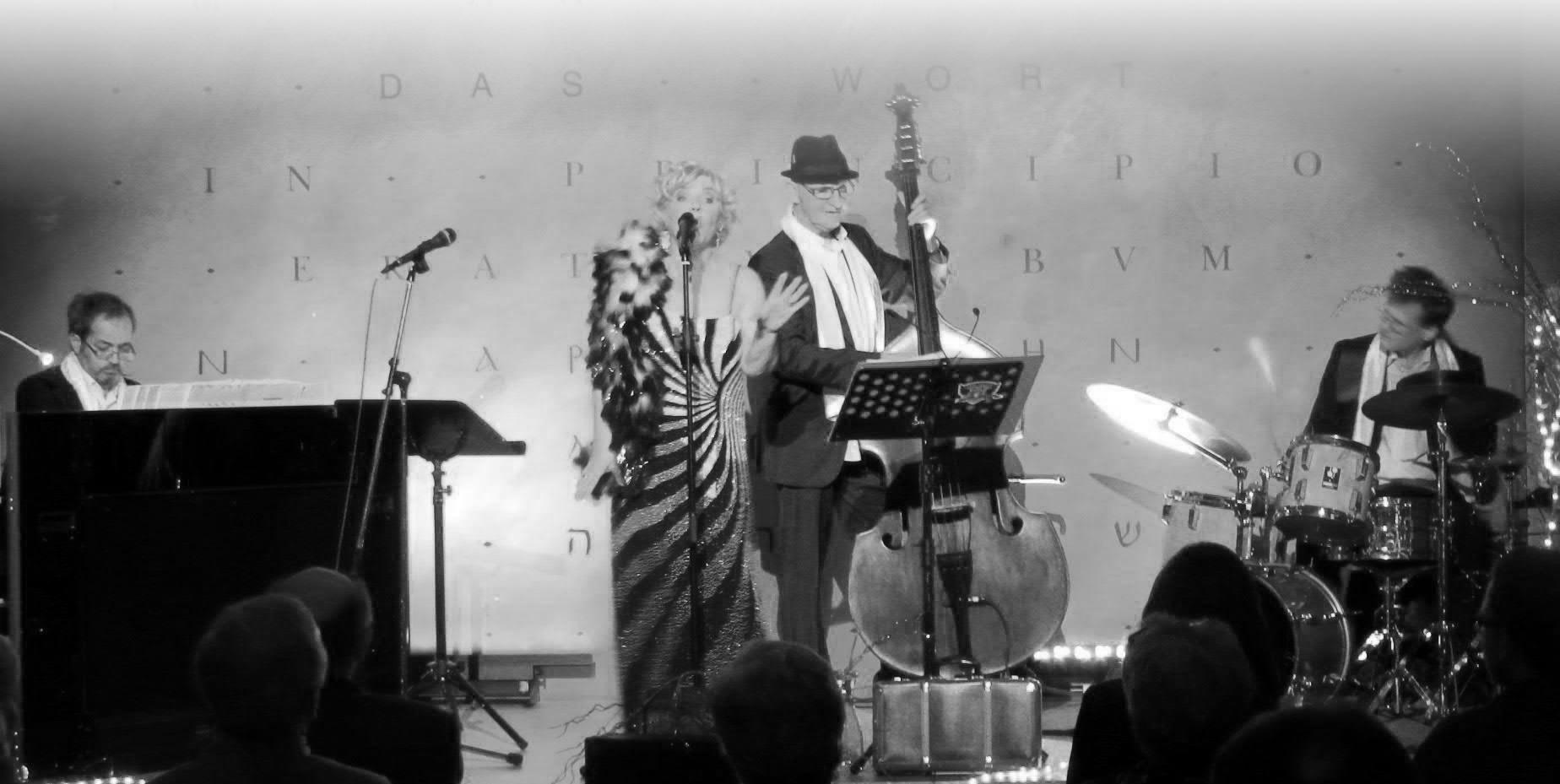 hanna Rose Salzburg und die Band Combo - Livemusik buchen Salzburg - deutsche Klassiker, Chansons, Lieder Von Knef, Marlene Diertrich, Zarah Leander